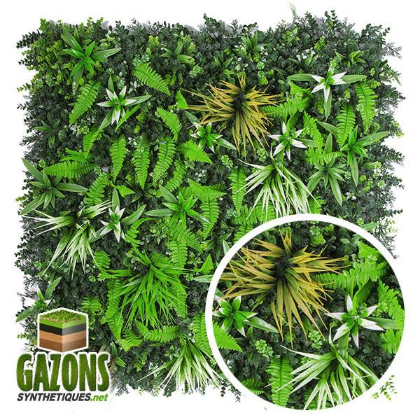 mur végétal artificiel savane