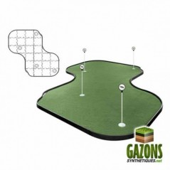 Kit Golf - 26 paneaux - Putting Green